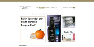 A Natural Difference E-Commerce Site