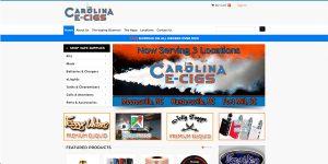 Carolina Ecigs E-Commerce Site