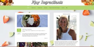key informational WordPress site