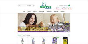 Bio-pro Research E-commerce Magento Site