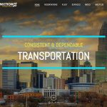 connections and transportation informational WordPress site
