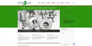 Schubert and Salzer Informational WordPress Site