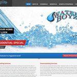 waterboyz informational WordPress site